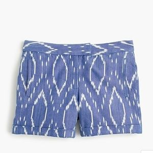 J Crew cotton shorts size 4